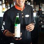 Alvin Martinez: a great bartender.