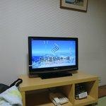 テレビは地デジ液晶に更新済
