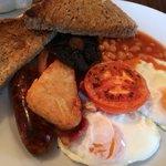 Yummy full English Breakfast