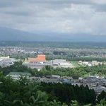 秋田市を一望できる展望台もあります。