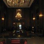 Side entrance-elegant lobby