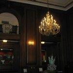 View of mezzanine from lobby