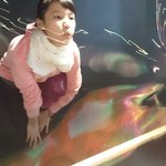 playing with the bubbles was FANTASTIC!