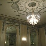 Detail of ceiling in Silver Ballroom