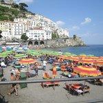 The city of Amalfi