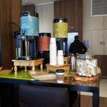 Complimentary Tea & Coffe at the Lobby