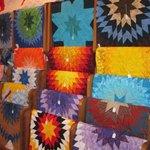 Beautiful handmade Star quilts