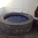 Courtyard private hot spa pool!