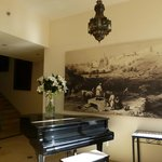 Piano, on the way to the dining room