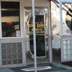 Diner classic front door
