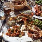 Belles assiettes de la mer !
