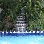 small pool near Carabelas restaurant