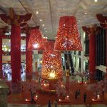 Shopping Mall interior for Chinese New Year