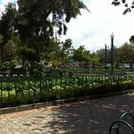 Puembo town square park