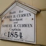Curwin House Plaque
