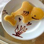 baby shark pancake