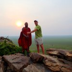 Take the sunset walk over the Serengeti with a Masai guide.