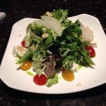 My share of the salad wit pears we split. fantastic!