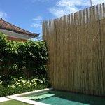 Private Pool area @ Room Moyo