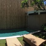 Private Swimming Pool @ Room Moyo