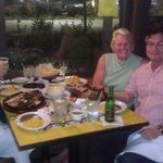 Great dinner with good friends
