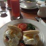 American style breakfast with fresh juice  (In Room Breakfast)