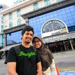 last day in front of Mustafa center
