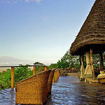 Stunning views from Tembo House overlooking the majestic Mount Kilimanjaro