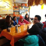 lunch at Jyoti Restaurant with my labmates