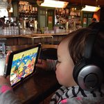 You can bring your kids, but music could be loud