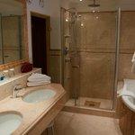 Tolles Badezimmer mit eigener Sauna