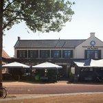 Vooraanzicht Hotel Café Restaurant