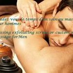 massage and care for Men