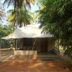 Garden tent cottage