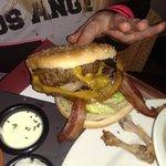 Gigantic NY style Hamburger