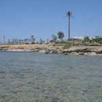 veduta dalla piattaforma barriera corallina