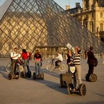 Segways at the Louvre