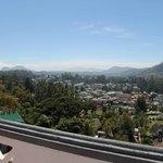 View from Shangri-La room balcony