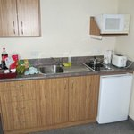 Perfectly working kitchenette