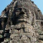 Bayon 'head' at Angkor Thom Temple complex