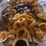 Hot Seafood Platter - Om nom nom!