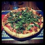La pizza roquette !!!! Sublime et delicieuse!!!!!