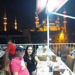 vista sulla moschea blu