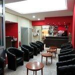 Reception area/bar Saint Etienne Lourdes