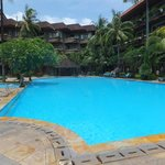 Huge pool at Sari Segara Resort