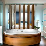 Bath tub with view