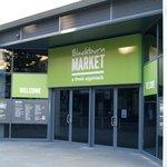 Entrance to Blackburn Market