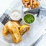 Bohemia's Famous Fish'n'Chips, £10.50