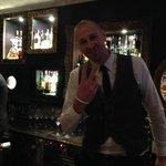 Amazing barman