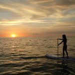 Sunset SUP....bliss.